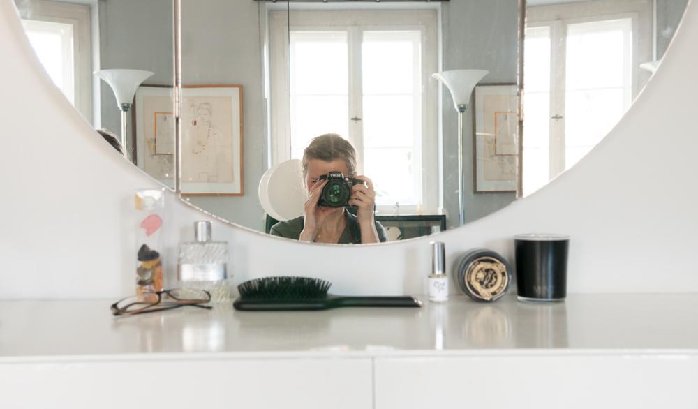Interior Shooting Selbstportrait ©Jordana Schramm