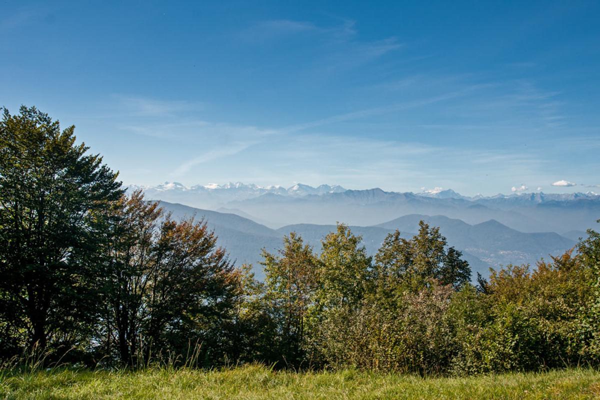 Schweiz Gebirgsansicht