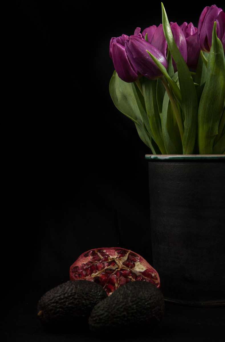 Pomegranate & Tulips