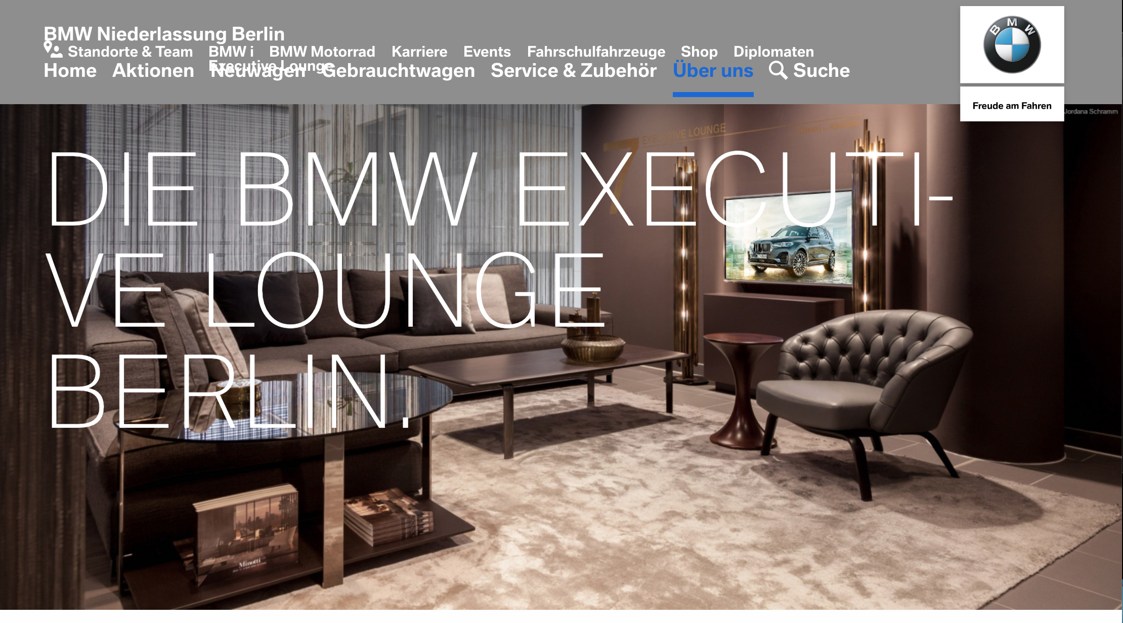 BMW Lounge by Minotti